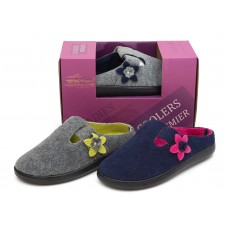 Ladies Coolers Premier Felt Clog Slipper
