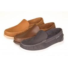 Mens Yachtsman Leather Boat / Deck Shoe